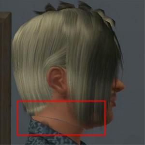 Hals abgeschnitten