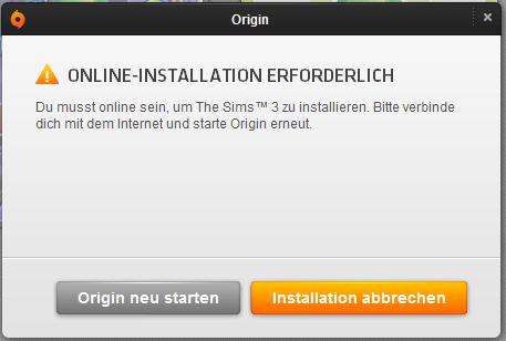 OnlineInstallation