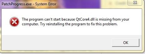 QtCore4.dll not found \u2013 Crinrict\u0027s Sims 3 Help Blog