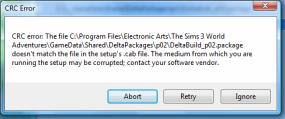 Cyclic Redundancy Check – Crinrict's Sims 3 Help Blog