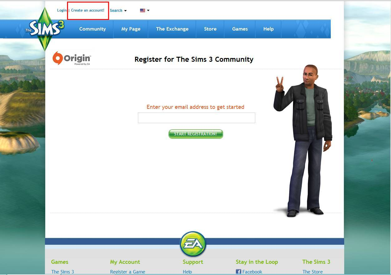 How to sign up on thesims3 com – Crinrict's Sims 3 Help Blog